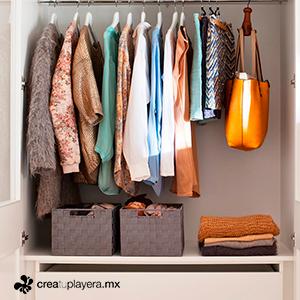 playeras en closet