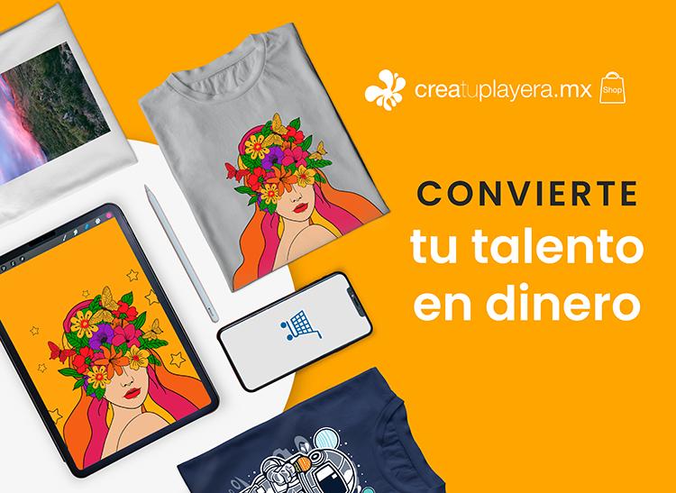 Crea tu Playera Shop